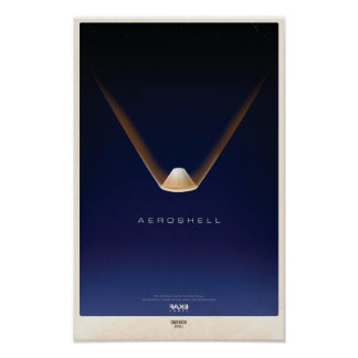 Aeroshell Re-Entry Poster