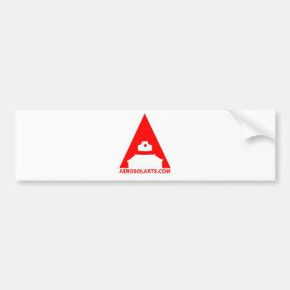 """Aerosol Art """"A"""" Icon Bumper Sticker"""