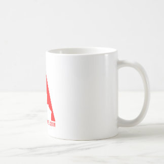 """Aerosol Art """"A"""" Icon Coffee Mug"""