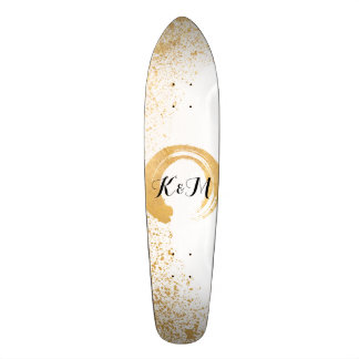 Aerosol de la hoja de oro tablas de patinar