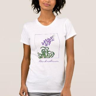 Aerosol de la orquídea del Dendrobium Camisetas