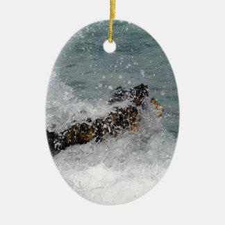 Aerosol de mar ornamento para arbol de navidad