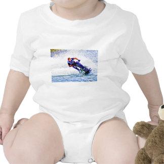 Aerosol del corredor de la onda traje de bebé