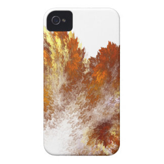 Aerosol del fractal del otoño Case-Mate iPhone 4 protector