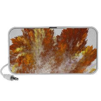 Aerosol del fractal del otoño iPhone altavoz
