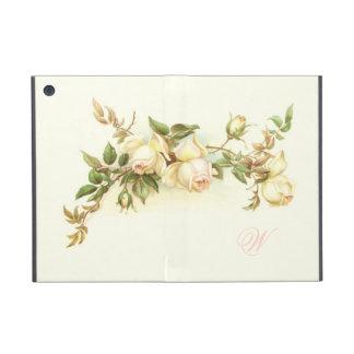 Aerosol del rosa blanco del vintage iPad mini protectores