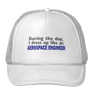 AEROSPACE ENGINEER During The Day Trucker Hat