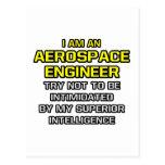 Aerospace Engineer...Superior Intelligence Post Card