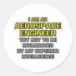 Aerospace Engineer...Superior Intelligence Sticker