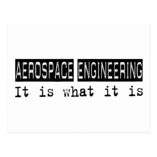 Aerospace Engineering It Is Postcard
