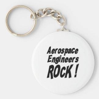 Aerospace Engineers Rock! Keychain