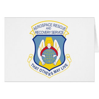 Aerospace Rescue and Recovery Service Card