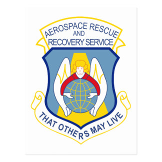 Aerospace Rescue and Recovery Service Postcard