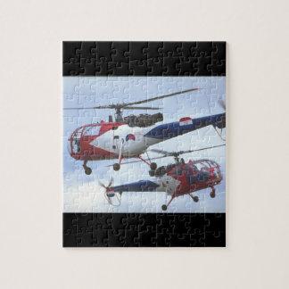 Aerospatiale SA Alouette_Aviation Photography II Jigsaw Puzzle