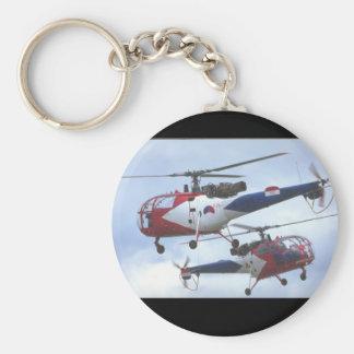 Aerospatiale SA Alouette_Aviation Photography II Keychain