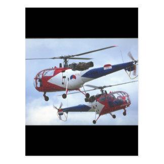Aerospatiale SA Alouette_Aviation Photography II Postcard
