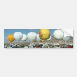 Aerostación del gas de la fiesta del globo pegatina para auto