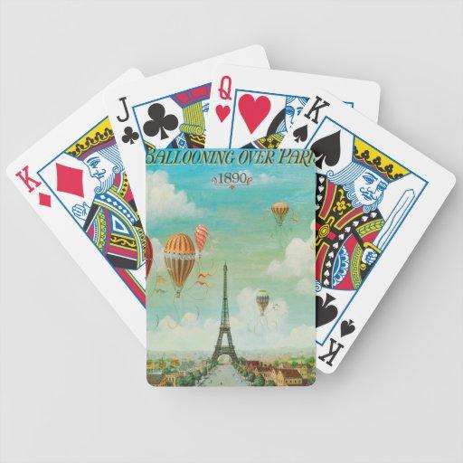 Aerostación sobre París Baraja