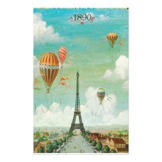 Aerostación sobre París Papeleria
