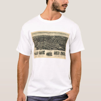 Aeroview of Westwood, New Jersey (1924) T-Shirt
