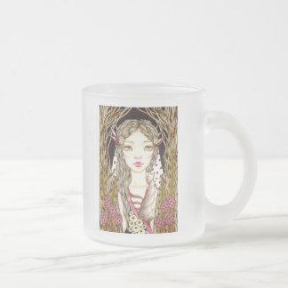 Aerwyna Frosted Glass Coffee Mug