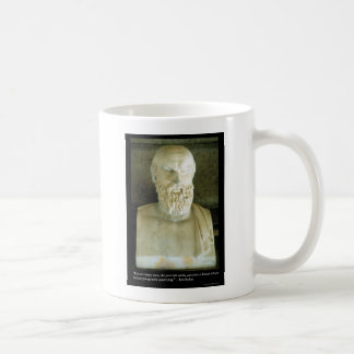 """Aeschylus """"Proverb Saith"""" Quote Gifts Tees Etc Coffee Mugs"""