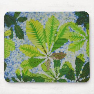 AESCULUS HYPOCASTINA MOUSE PAD