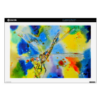 """Aeshna Dragonfly Decal For 17"""" Laptop"""