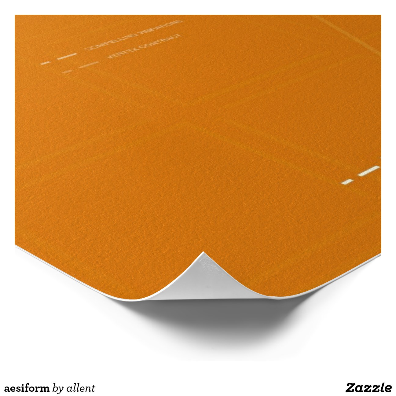 aesiform poster  Zazzle Elysium Poster