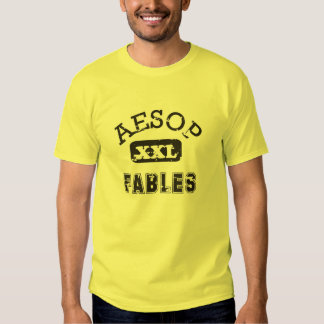Aesop Fables Sports Team Tee Shirts