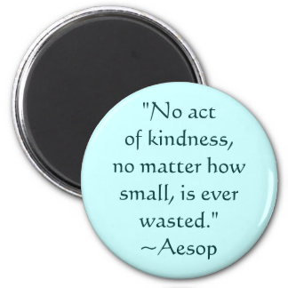 Aesop Kindness Quote Magnet