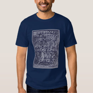 Aesop on Great Thieves: Congress! T-shirts