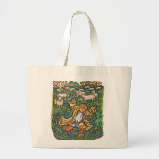 Aesop s fables the boy who cried wolf tote bag
