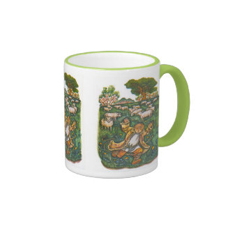 Aesop s fables the boy who cried wolf coffee mugs