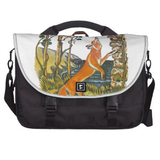 Aesop s fables the fox and the grapes laptop bags