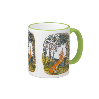 Aesop s fables the fox and the grapes coffee mugs
