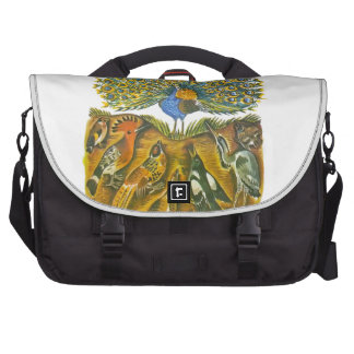 Aesop s fables the peacock and the birds bag for laptop