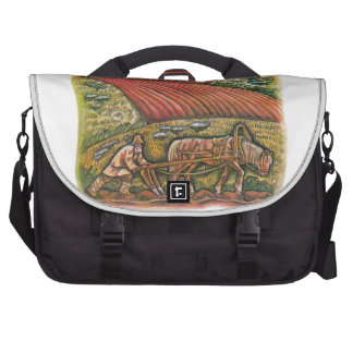 Aesop s fables the ploughman and the fields bag for laptop