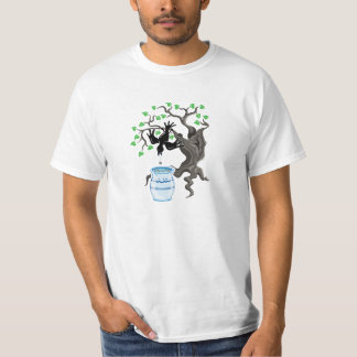 Aesop's Fable, The Crow and the Pitcher Tee Shirt