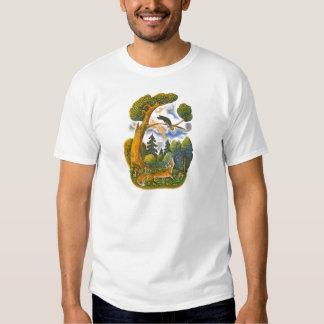 Aesop's fables illustrations tshirt