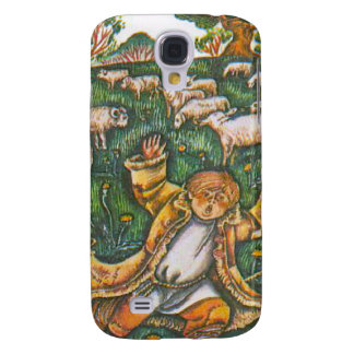 Aesop's fables, the boy who cried wolf samsung galaxy s4 case