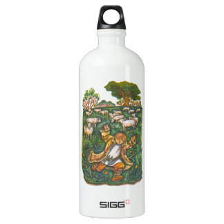 Aesop's fables, the boy who cried wolf SIGG traveler 1.0L water bottle