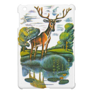Aesop's fables, the deer and his reflection case for the iPad mini