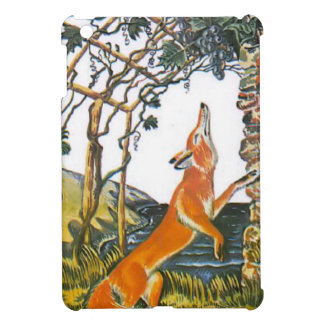 Aesop's fables, the fox and the grapes iPad mini covers