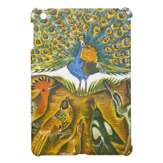 Aesop's fables, the peacock and the birds iPad mini case