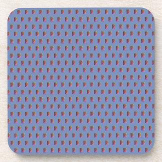 Aesthetic 1980's Plastic Coaster