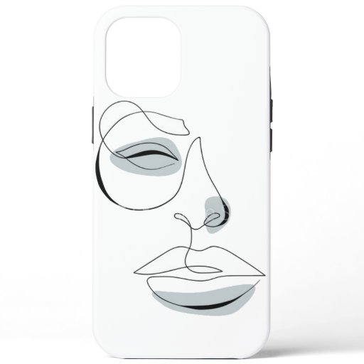 Aesthetic Face iPhone 12 Pro Max Case