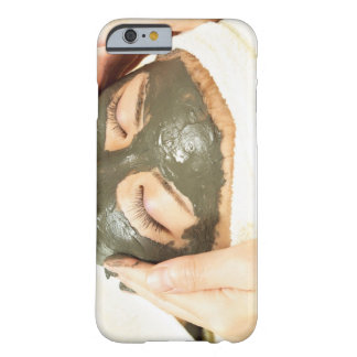 Aesthetician Who Rubs Mud Pack on Womans Face, Barely There iPhone 6 Case