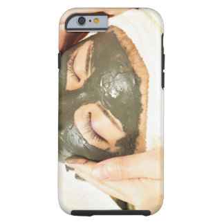 Aesthetician Who Rubs Mud Pack on Womans Face, Tough iPhone 6 Case