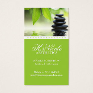 Esthetics business cards templates zazzle aesthetics business card wajeb Gallery
